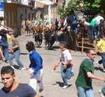 Fiestas del toro en La Raya