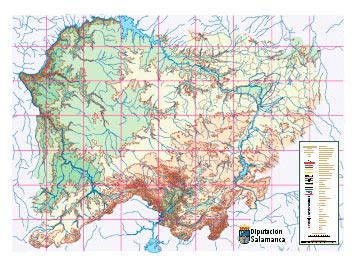 Diputacion De Salamanca Mapa Provincial